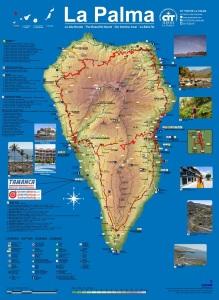 Mapa de La Palma